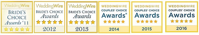Anne Marie Porter Wedding Wire Awards