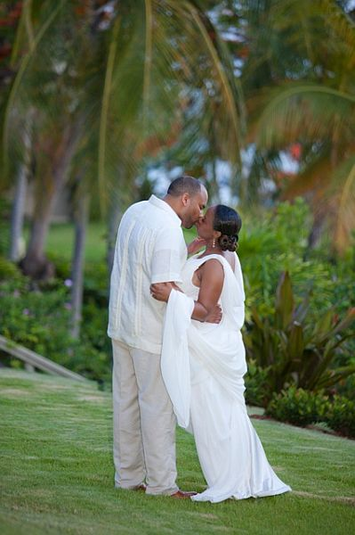 Romantic Vow Renewal on St John