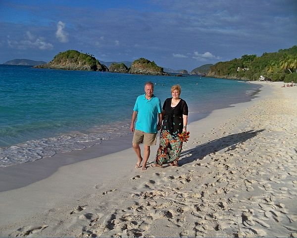 St John Beach Vow Renewal