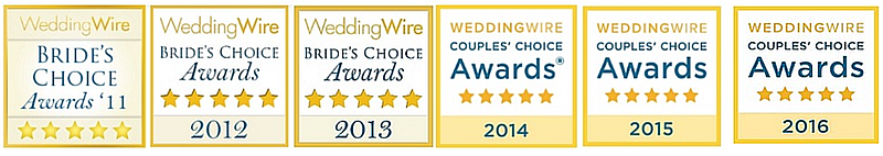 Anne Marie Porter Wedding Wire Awards